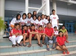 Group photo with Indonesian team