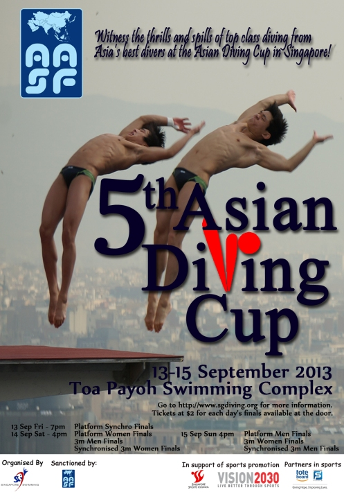 5th Asian Diving Cup! 13-15 September 2013
